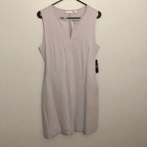 NY&Co Lavender Tank Dress with pockets